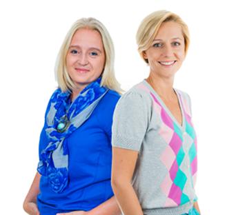 dr Karolina Kotorowicz-Jasińska i Marta Rosińska