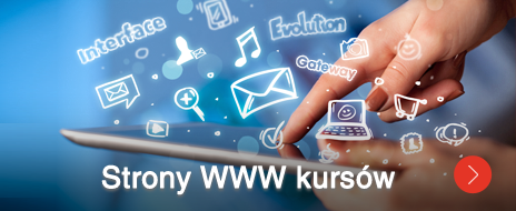 Strony www kursów